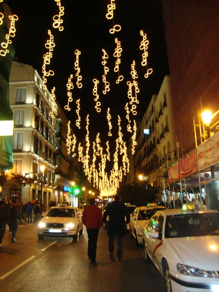 Madrid on Christmas