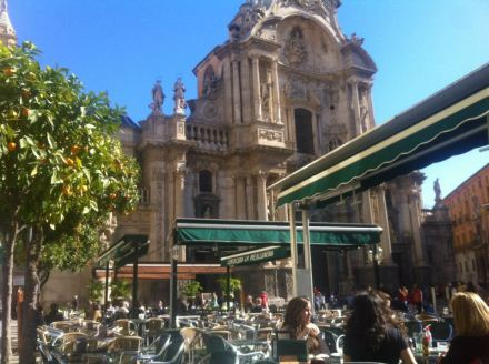 Murcia Cathedral, Plaza Cardenal Belluga